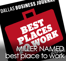 Miller ranked 6th on DBJ's 'Best Places to Work' list