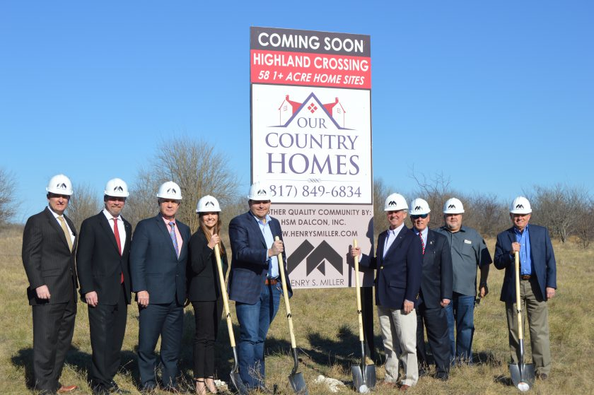HSM Dalcon Breaks Ground for Highland Crossing, Featuring Builder Our Country Homes