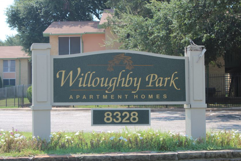 Willoughby Park Apartments Sell in Dallas