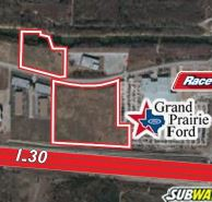 New Development coming to Grand Prairie as New Service Road Prompts Developer to Purchase 12.9 Acre Site