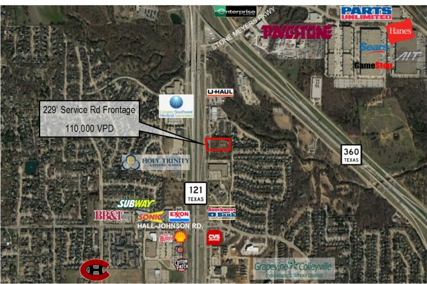 HSM's Bill Bledsoe Sells 5.1+ Acres in Grapevine, Texas along SH 121 for New Office Development