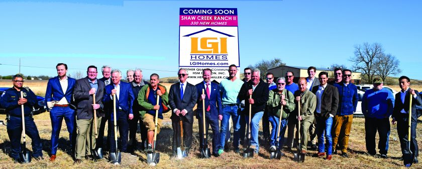 HSM Dalcon Breaks Ground for Shaw Creek Ranch II: 330 Single Family Lots offered in Ferris, Texas