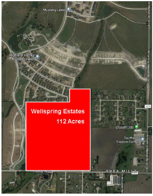Grand Homes, First Texas Homes Purchase 126 Lots at Wellspring Estates in Celina, TX: Angela Chen Represents Buyer