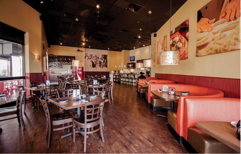 Paul Vernon and Campbell Vise Represent Russo's Italian Restaurants in Texas