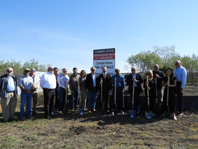 HSM Dalcon Breaks Ground for Jordan Run Estates Phase IV Featuring Builders Carnegie Homes and Elmwood Custom Homes: 74 One-Acre Ranch Estate Home Sites in Midlothian ETJ, TX