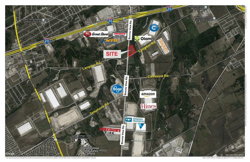 HSM Bonnie View, LP Purchases 7 Acres in South Dallas for Industrial Development: Build-to-Suit ±90,000SF