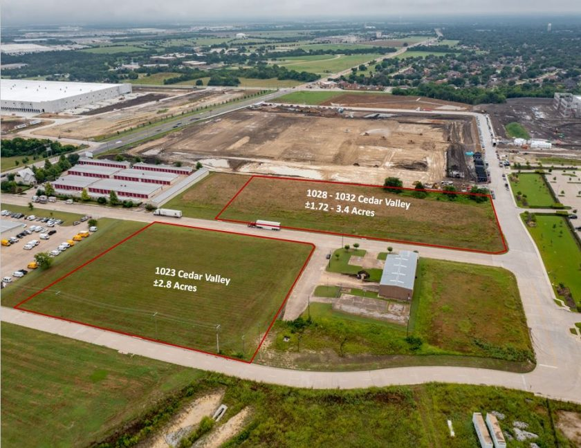 HSM Cedar Valley, LP Purchases 6.3 Acres in Lancaster for Industrial Development: 48,500SF Spec Building and Built-to-Suit Planned